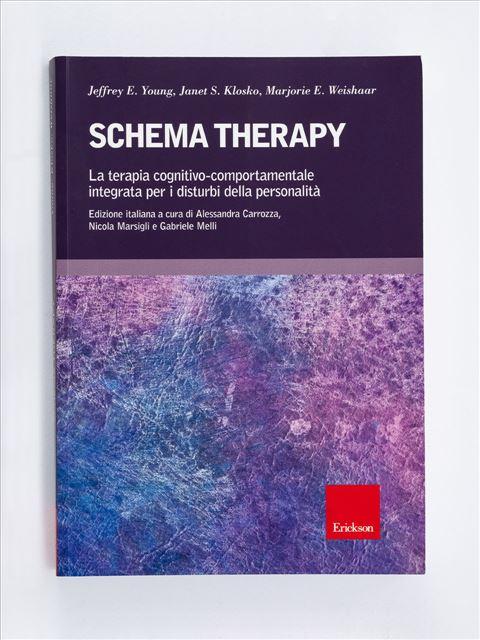 Schema Therapy Libro - Erickson Eshop