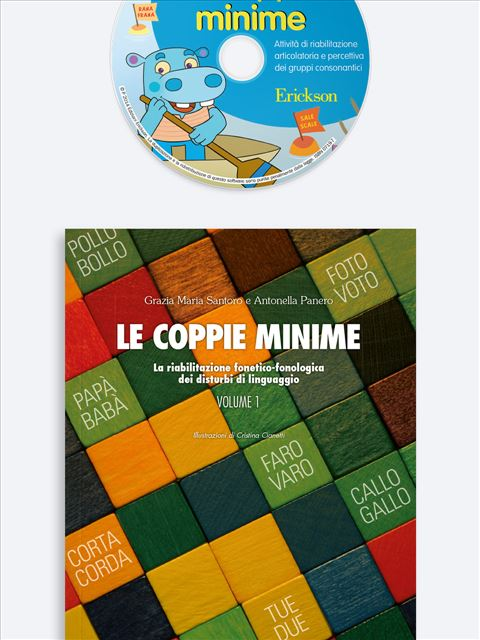 Le coppie minime - Volume 2 Kit (Libro + Cd-Rom) - Erickson Eshop