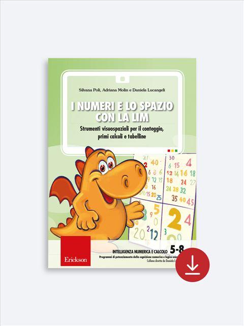 I numeri e lo spazio con la LIM - App e software per Scuola, Autismo, Dislessia e DSA - Erickson