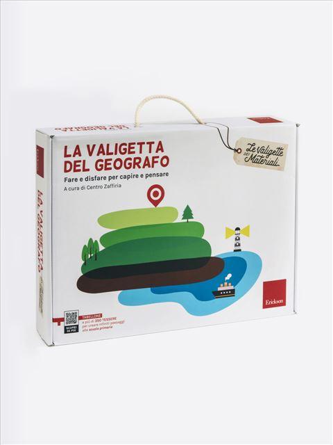 La valigetta del Geografo - Le valigette dei materiali - Erickson