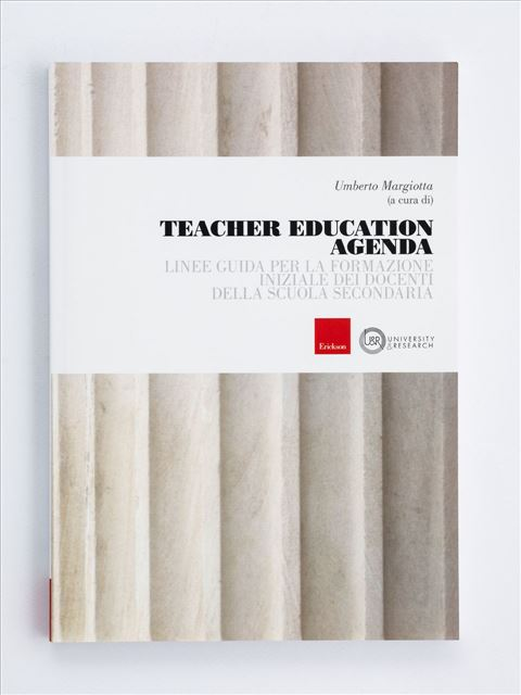 Teacher Education Agenda - Dirigente scolastico - Erickson