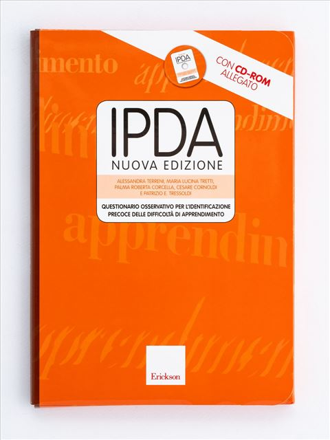 Test IPDA - Test diagnosi autismo, asperger, dislessia e altri DSA - Erickson