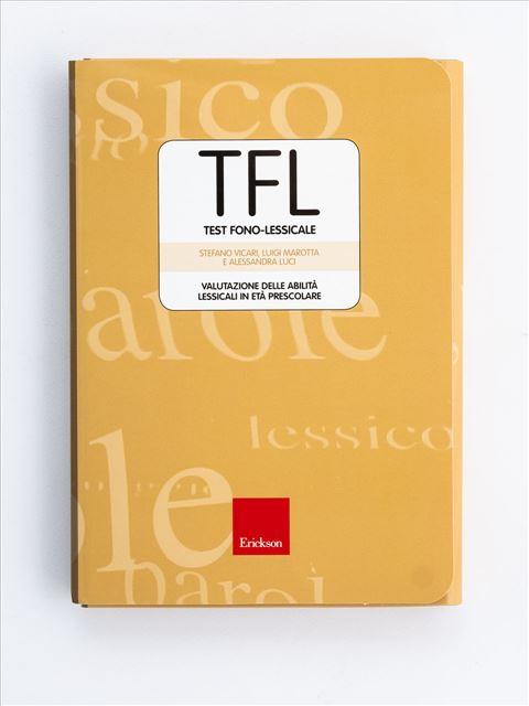 TFL Test fono-lessicale - Test diagnosi autismo, asperger, dislessia e altri DSA - Erickson
