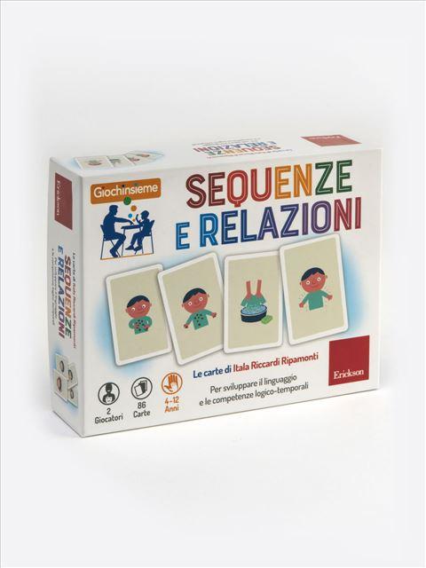 Giochinsieme - Sequenze e relazioni - Libri sulla Difficoltà di Linguaggio – Erickson