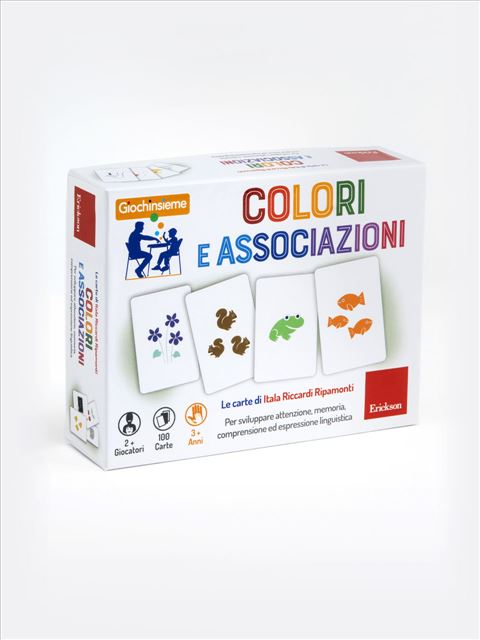Giochinsieme - Colori e associazioni - Libri sulla Difficoltà di Linguaggio – Erickson