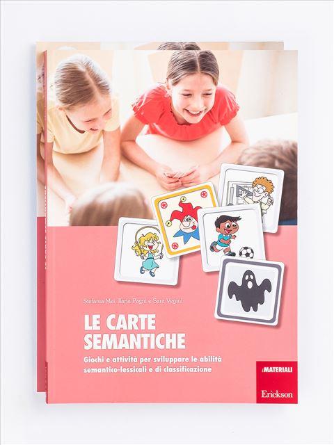 Le carte semantiche - Libri di didattica, psicologia, temi sociali e narrativa - Erickson