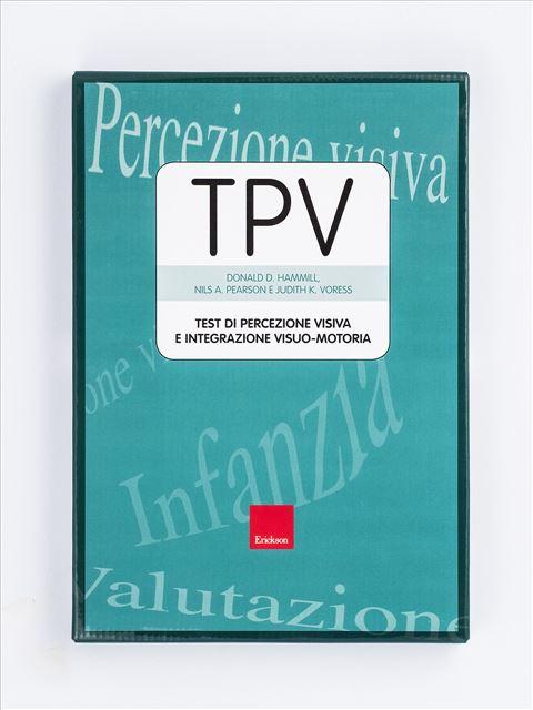 Test TPV - Percezione visiva e integrazione visuo-motoria - Judith K. Voress - Erickson