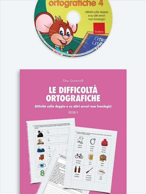 Le difficoltà ortografiche - Volume 4 - App e software per Scuola, Autismo, Dislessia e DSA - Erickson 3