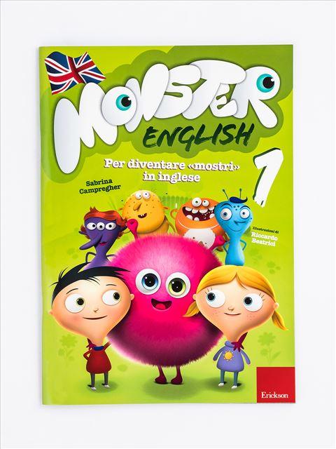 Monster English 1 - Monster English | Quaderni operativi di inglese per la primaria