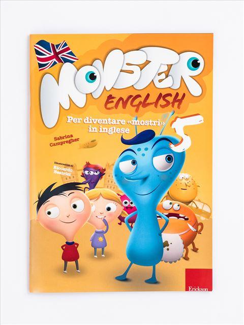 Monster English 5 - Libri per i compiti delle vacanze |  Classe quinta elementare