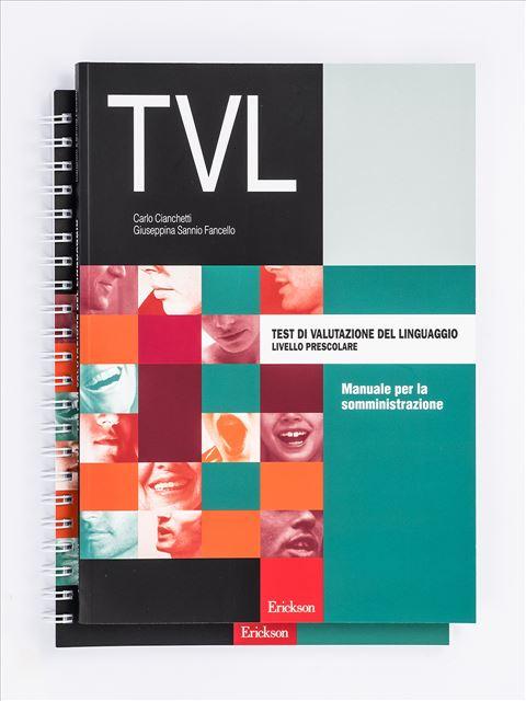 Test TVL - Valutazione del linguaggio - Carlo Cianchetti - Erickson