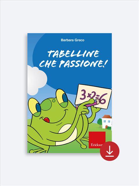 Tabelline che passione! - App e software - Erickson 2