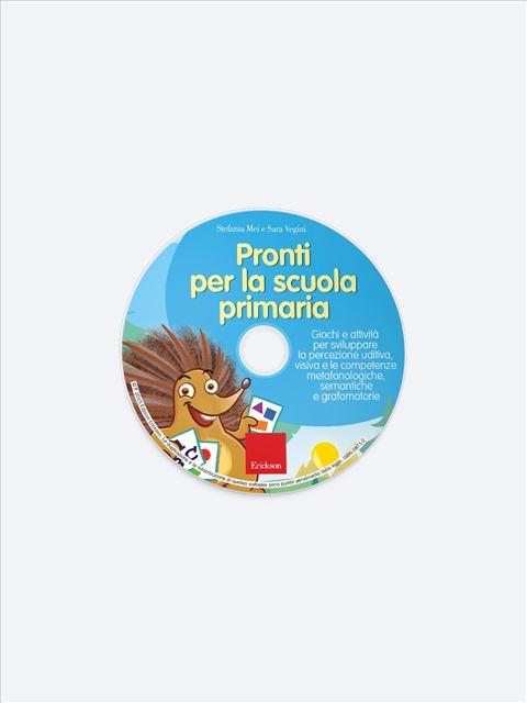 Pronti per la scuola primaria - Simpatici libri per il passaggio alla scuola primaria - Erickson 2
