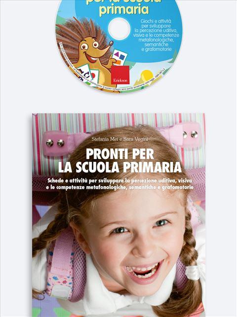 Pronti per la scuola primaria - Simpatici libri per il passaggio alla scuola primaria - Erickson 3