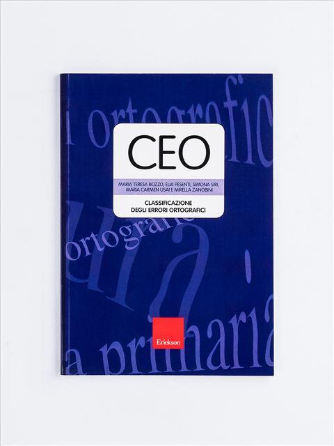 Test CEO - Classificazione degli errori ortografici - Elia Pesenti - Erickson