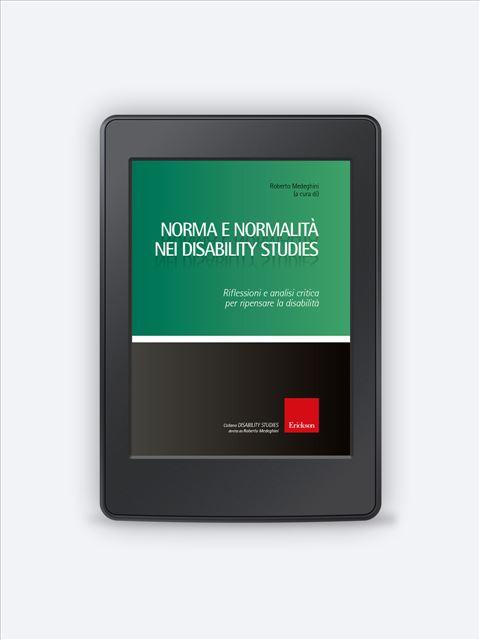 Norma e normalità nei disability studies - Pediatra - Erickson