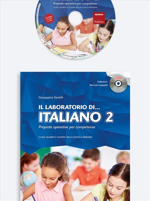 Il laboratorio di... italiano - Volume 2 - Didattica per competenze - Erickson
