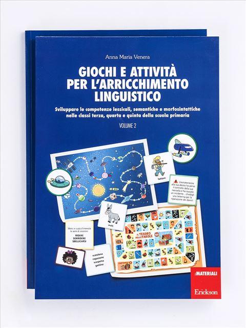 Giochi e attività per l'arricchimento linguistico - Volume 2 - Zoom - Giochi - Erickson