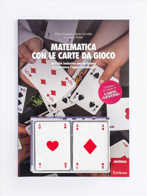 Matematica con le carte da gioco - Giocadomino - Operazioni entro il 20 - Giochi - Erickson