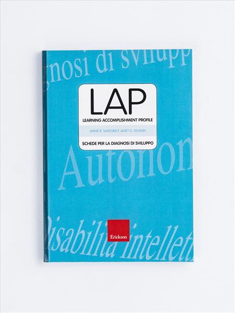 Test LAP - Diagnosi di sviluppo - Disabilità intellettiva - Erickson