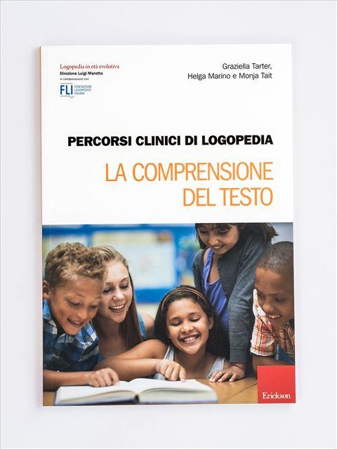 Percorsi clinici di logopedia - La comprensione de - Libri - Erickson