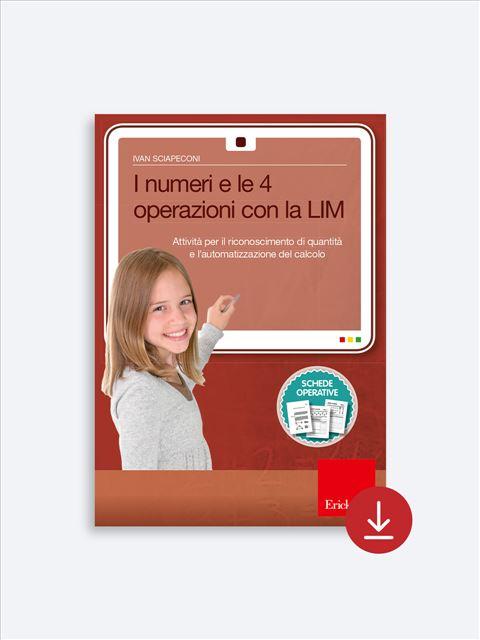 I numeri e le 4 operazioni con la LIM - App e software per Scuola, Autismo, Dislessia e DSA - Erickson 2