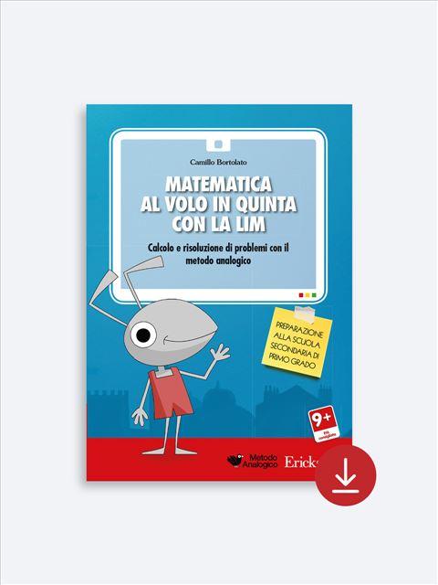 Matematica al volo in quinta - Libri - App e software - Erickson 6