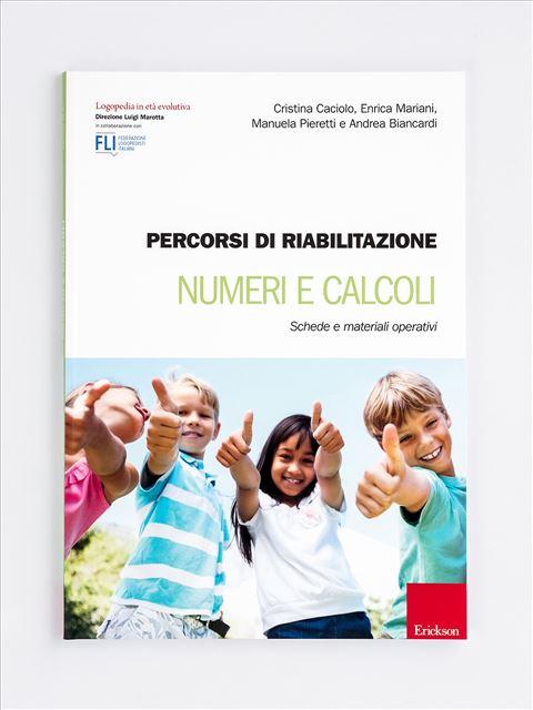 Percorsi di riabilitazione - Numeri e calcoli - Il colloquio didattico - Libri - Erickson