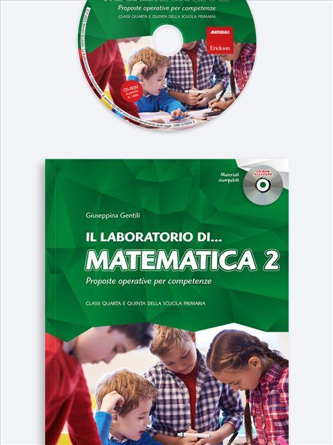 Il laboratorio di... matematica - Volume 2 - Il laboratorio di... italiano - Volume 2 - Libri - Erickson