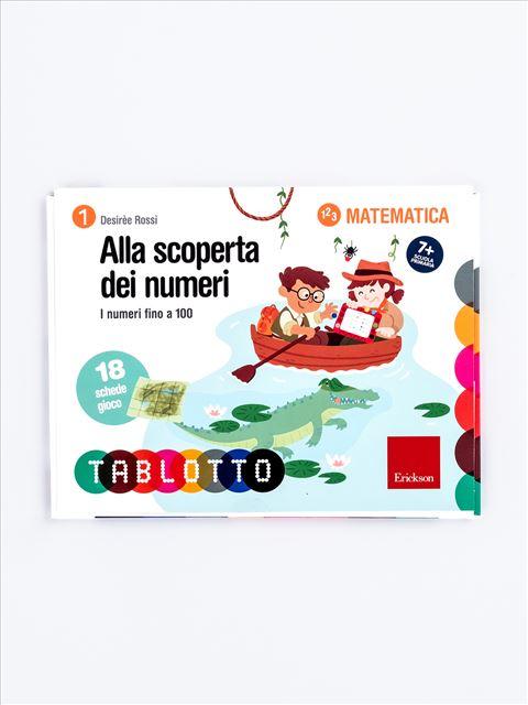 Schede per Tablotto (6-8 anni) - Alla scoperta dei numeri - Lessico del numero - Erickson