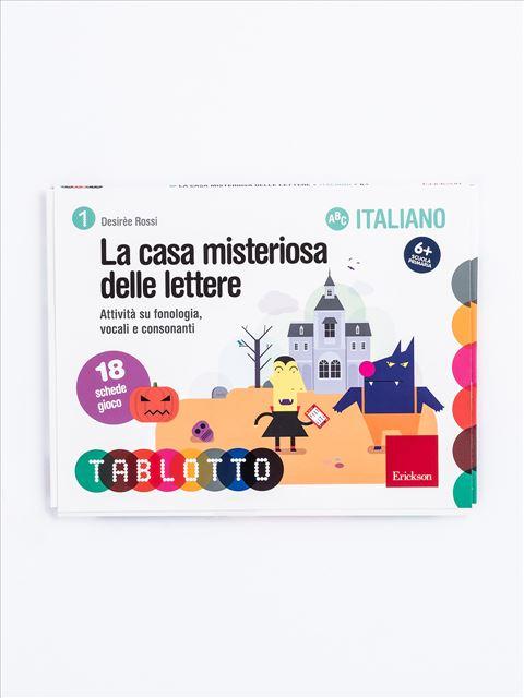 Schede per Tablotto (6-8 anni) - La casa misteriosa delle lettere - Le coppie minime - Volume 2 - Libri - App e software - Erickson