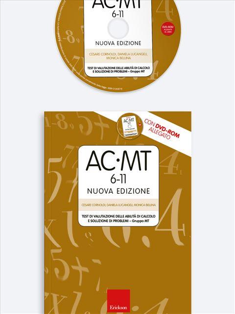 Test AC-MT 6-11 - Test di valutazione delle abilità di calcolo e soluzione di problemi - Test diagnosi autismo, asperger, dislessia e altri DSA - Erickson
