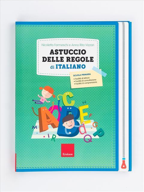 Astuccio delle regole di italiano Libro - Erickson Eshop
