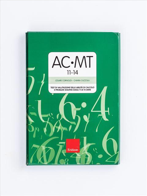 Test AC-MT 11-14 - Test di valutazione delle abilità di calcolo e problem solving - Test diagnosi autismo, asperger, dislessia e altri DSA - Erickson