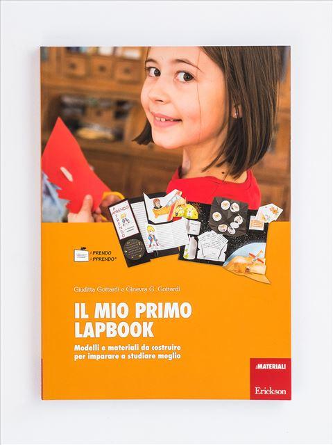 Il mio primo lapbook - Grammatica e arricchimento lessicale - Erickson