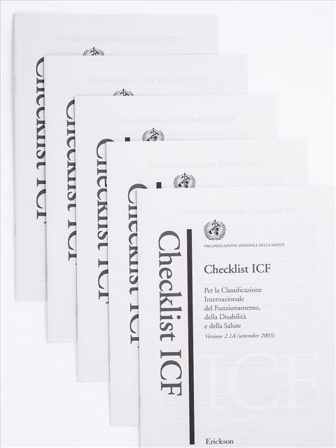 Checklist ICF - Ginecologo / Ostetrica - Erickson