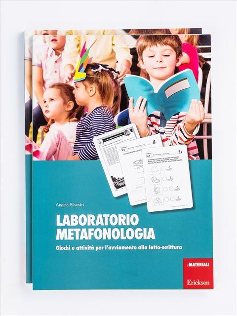 Laboratorio metafonologia - Grammatica e arricchimento lessicale - Erickson