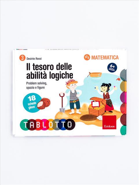 Schede per Tablotto (6-8 anni) - Il tesoro delle abilità logiche - Lessico del numero - Erickson