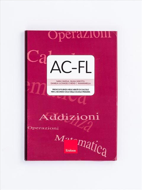 AC-FL - Test diagnosi autismo, asperger, dislessia e altri DSA - Erickson