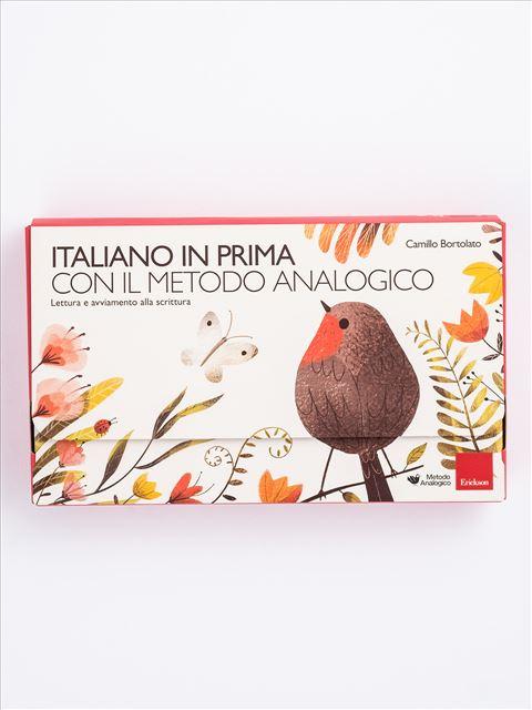 Italiano in prima con il metodo analogico Libro + Strumenti - Erickson Eshop
