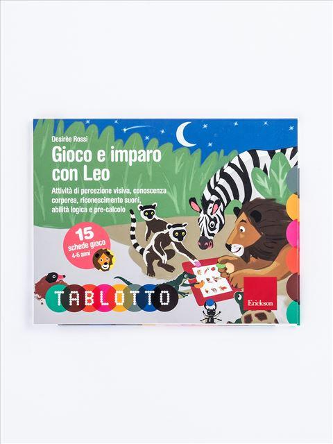 Schede per Tablotto (4-6 anni) - Gioco e imparo con Leo - Disabilità intellettiva (ritardo mentale) - Erickson