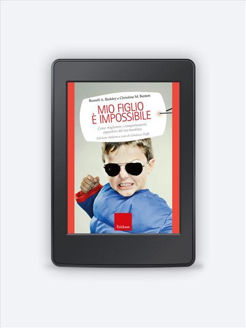Mio figlio è impossibile - Counselor - Erickson