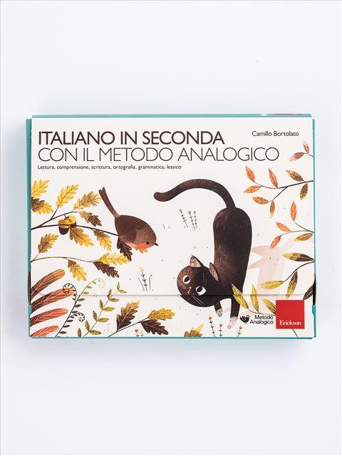Italiano in seconda con il metodo analogico Libro + Strumenti - Erickson Eshop