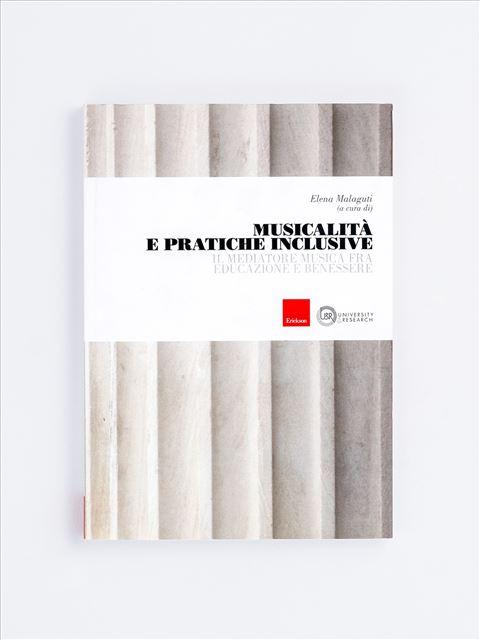 Musicalità e pratiche inclusive - Didattica inclusiva - Erickson
