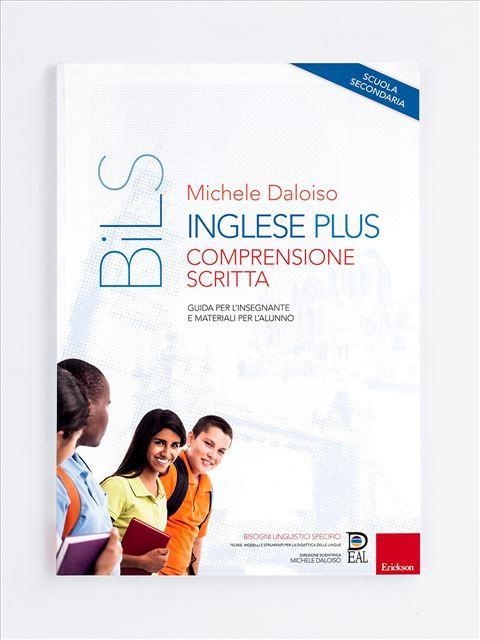 Inglese Plus - Comprensione scritta - didattica metacognitiva - Erickson