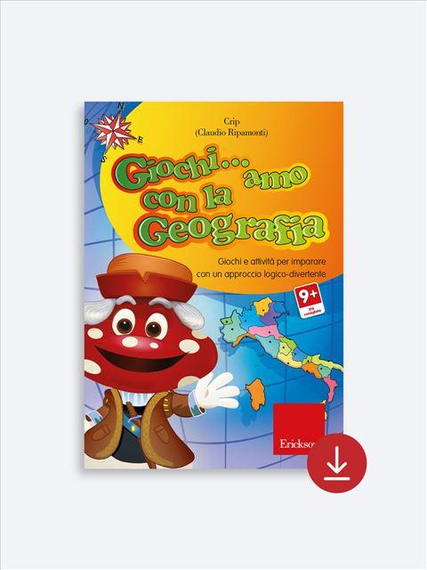 Giochi... amo con la geografia - Scuola primaria - App e software per Scuola, Autismo, Dislessia e DSA - Erickson 2