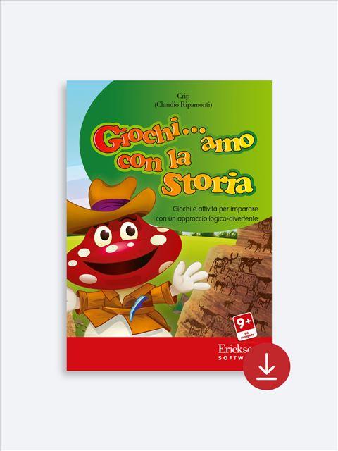 Giochi... amo con la storia - Scuola primaria - App e software per Scuola, Autismo, Dislessia e DSA - Erickson 2