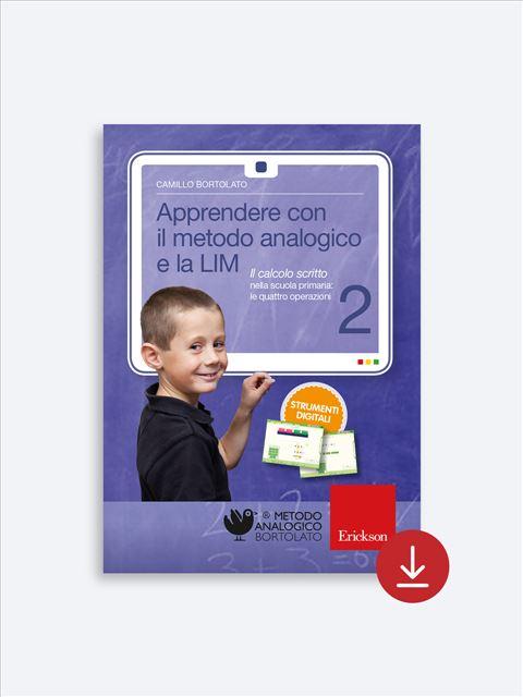 Apprendere con il metodo analogico e la LIM 2 - App e software per Scuola, Autismo, Dislessia e DSA - Erickson 2