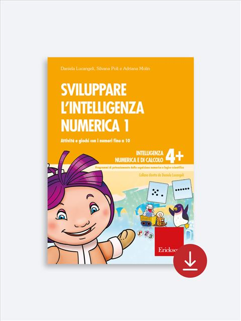 Sviluppare l'intelligenza numerica 1 Download - Erickson Eshop