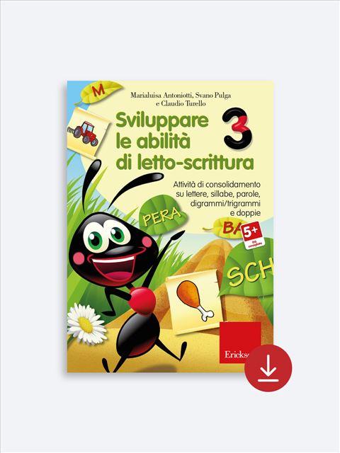 Sviluppare le abilità di letto-scrittura 3 - App e software per Scuola, Autismo, Dislessia e DSA - Erickson 2